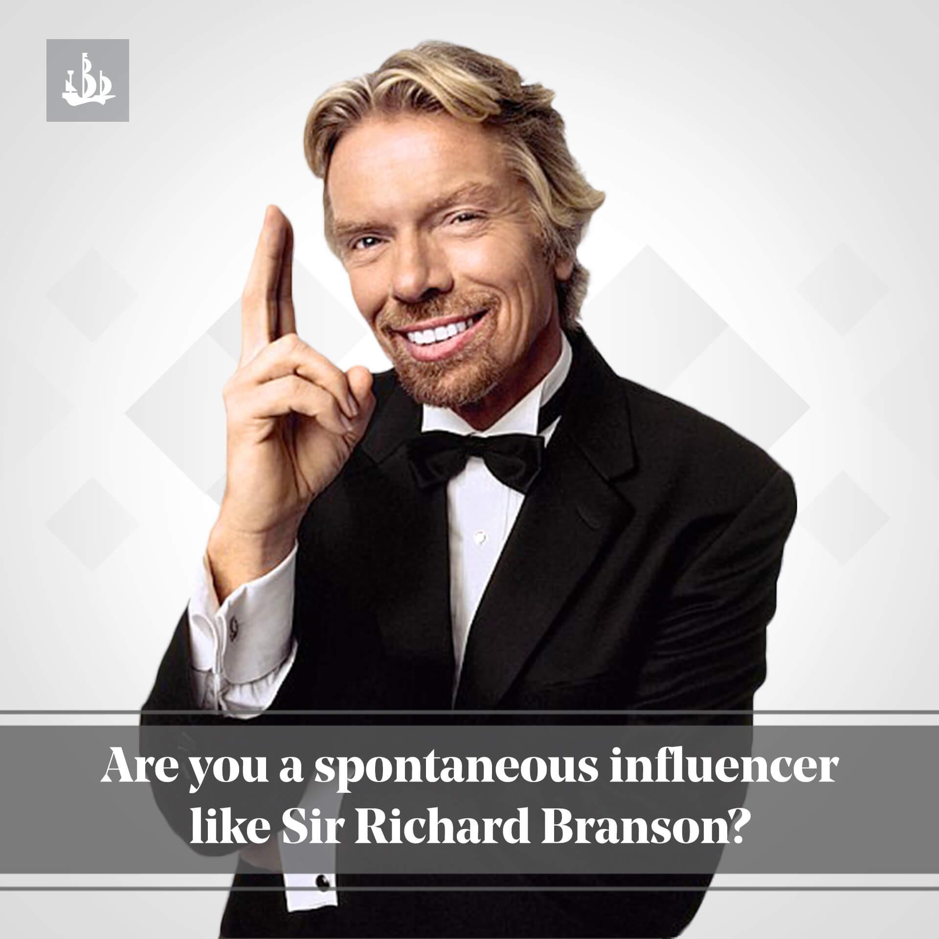 Spontaneous Influencer