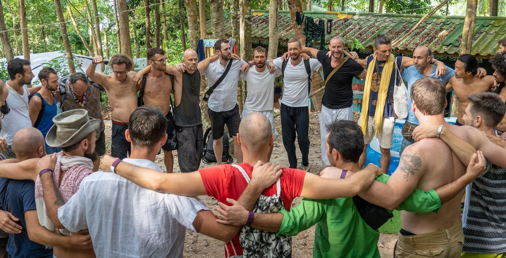 Men coming together in Koh Phangan