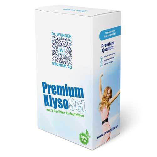 Produkt Dr. Wunder Premium Klyso-Set