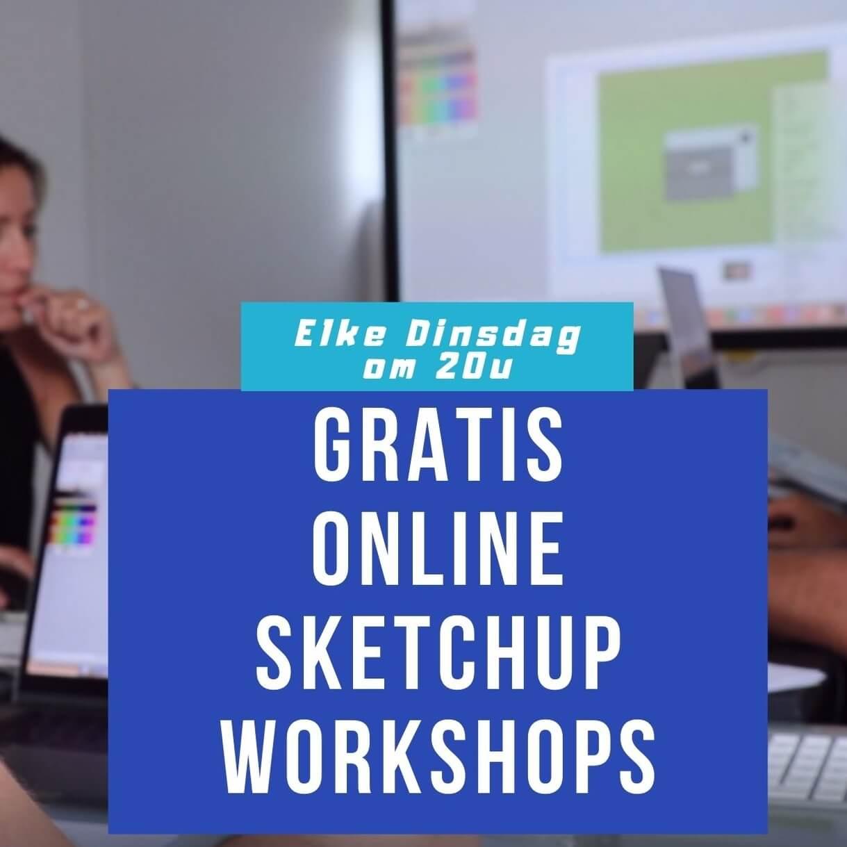 sketchup gratis workshops